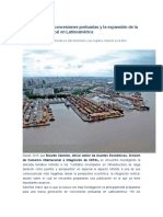 La nueva era de concesiones portuarias y la expansión de la integración vertical en Latinoamérica