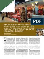 ARTICULO - MERCASA - Modernizacion de los Mercados Municipales Minoristas - 2008.pdf