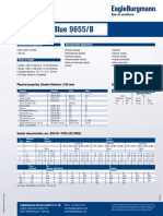 Technical data sheet - Burachem Blue 9655 B
