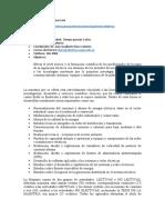 Electrical Engineering Master (Study Plan Spanish)