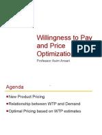 Price optimizations