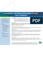 CA AutoSys Workload Automation 253_TopFeatures_r11