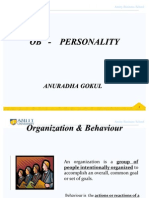 3791bOB - Personality & Motivation (Anuradha Gokul)