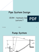 CE154 - Lecture 7 Pipe System Design.ppt