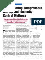 COMPRESORES RECIPROCANTES ARRANQUE Y METODOS DE CONTROL