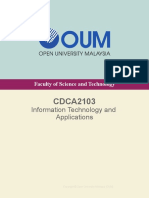 CDCA2103 IT and Applications