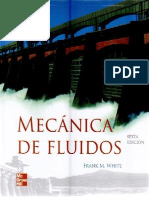 Mecanica De Fluidos 6ª Ed Frank M White 1 Pdf