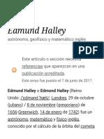 Edmund Halley - Wikipedia, la enciclopedia libre.pdf