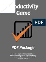 Productivity Game PDF Package