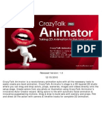 Crazy Talk Animator Pro