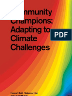 Community Adaptation to Climate Change