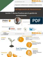 PPM 07-BUENAS PRACTICAS PARA LA GESTION DE MANTENIMIENTO