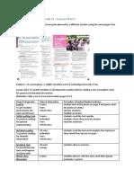 CELTA Online Unit 5 Task 11 - Procedure