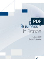 Doing Business en France Juin 2010 FR
