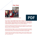 dia de san juan y batalla de carabobo