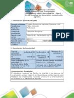 - Fase 3 - Conocer las fuentes de energía y sistemas de MECANIZACION AGRICOLA