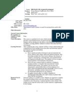 UT Dallas Syllabus for hdcd6312.501.11s taught by Jacoba Geertje Vanbeveren (jtv013100)