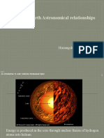 Sun Earth Astronomical Relationships