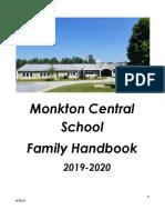 family handbook 2019-2020