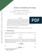 derving relativistic mass.pdf