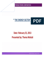 Botswana Power Sector