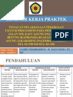 Presentasi Kerja Praktek Teknik Sipil