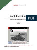 Death Ride Kursk - Totenkopf Supplement