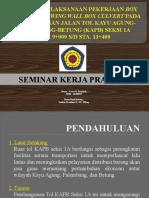 Presentasi Kerja Praktek Teknik Sipil (Box Culvert)