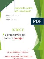 Los organismos de control del Estado Colombiano