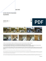 Technical sheets simple house