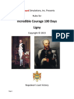Incredible Courage 100 Days - Ligny
