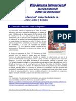 05 - La educación sexual hedonista en América Latina y España
