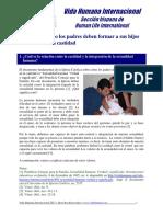 06 - Cómo los padres deben formar a sus hijos en la castidad