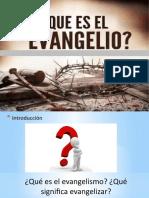Video 1. Curso Evangelismo. El Evangelio