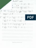 rocketman manoscritto