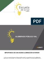 PRESENTACION MODULO 2 CLASE 1 - ALUMBRADO PUBLICO VIAL