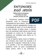 57-0302 Y ENTONCES LLEGÓ JESÚS HUB