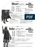 Odday 16 - Personagens Prontos