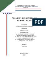 MANEJO DE SEMILLAS FORESTALES