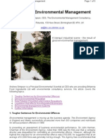 Industrial Environmental Management[1]