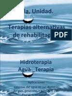 Taller Bases Fisicas y holisticas del uso de la hidroterapia