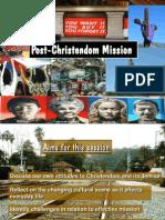 John Drane Post Christendom Mission