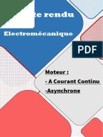Compte rendu N1 (moteur electrique)
