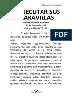 58-0112T AL EJECUTAR SUS MARAVILLAS HUB