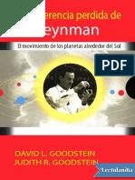 La conferencia perdida de Feynman - David L Goodstein