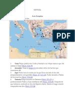 Mapa De Los Viajes De Pablo