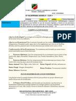 1°TALLER DE CIENCIAS NATURALES-CLEI V