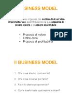 Slides business model + canvas
