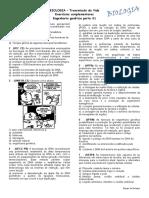 Lista Exercícios Engenharia Genética