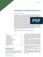Principios de la kinesiterapia pasiva 2015